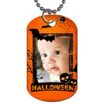 halloween - Dog Tag (Two Sides)