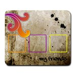 Funky alley mousepad01 - Large Mousepad