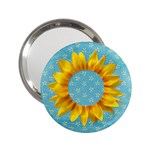 Sunflower-pocket mirror - 2.25  Handbag Mirror