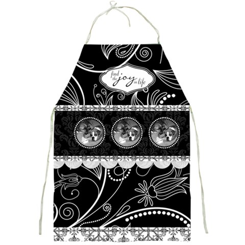 Find The Joy In Life Full Print Apron By Klh   Full Print Apron   N9ux6krrulrv   Www Artscow Com Front