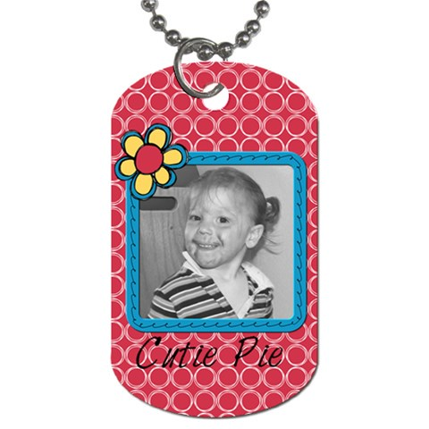 Tag 1 By Martha Meier   Dog Tag (one Side)   Pm4waeniohju   Www Artscow Com Front