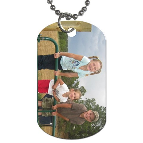 Lacixmas2010 2 By Robyn Ekker   Dog Tag (one Side)   V4yy6v0cnzh4   Www Artscow Com Front