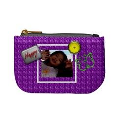 Cutie Purple Mini Coin Purse By Purplekiss   Mini Coin Purse   Gxiuc244ee3h   Www Artscow Com Front