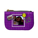 Cutie Purple Mini Coin Purse