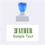 Father Day - Rubber Stamp (Medium)