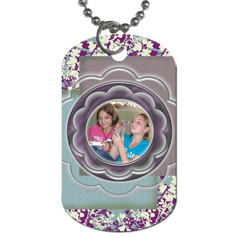 Reeni By Jolene   Dog Tag (one Side)   P5ndnly4o2ii   Www Artscow Com Front