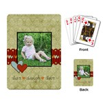 live laugh love playing cards - Playing Cards Single Design
