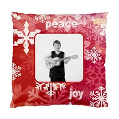 Happy Holidays Peace & Joy Cushion By Catvinnat   Standard Cushion Case (two Sides)   8mifj46e3ce4   Www Artscow Com Back