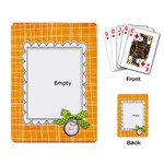 sing and play playing cards - Playing Cards Single Design