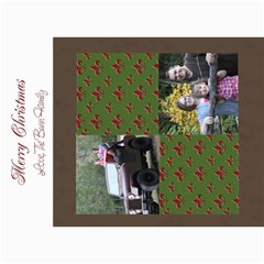 Flor De Lis Christmas Card By Amanda Bunn   5  X 7  Photo Cards   8l17186yl89a   Www Artscow Com 7 x5 Photo Card - 8