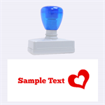 love - Rubber Stamp (Large)