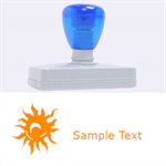 sun - Rubber Address Stamp (XL)