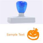 halloween - Rubber Address Stamp (XL)
