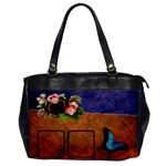 Butterflies BAG one side - Oversize Office Handbag