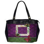 Butterflies BAG two sides - Oversize Office Handbag (Two Sides)