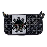 Black & White Shoulder Clutch Bag