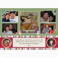 Xmas2010 By Starla Smith   5  X 7  Photo Cards   34pci0s6anin   Www Artscow Com 7 x5 Photo Card - 2