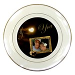 I Heart You Moon Decorative Plate - Porcelain Plate