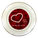You Light Up My Life Wedding Decorative Plate - Porcelain Plate
