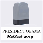 ReElect our President - Name Stamp