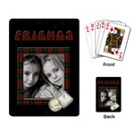 Friends - Playing cards - Playing Cards Single Design