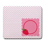 Strawberries mousepad 01 - Large Mousepad