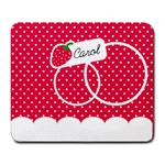 Strawberries mousepad 02 - Large Mousepad