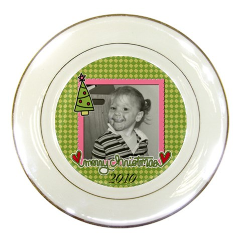 Cookie Plate 5 By Martha Meier   Porcelain Plate   H9od6tictg5q   Www Artscow Com Front