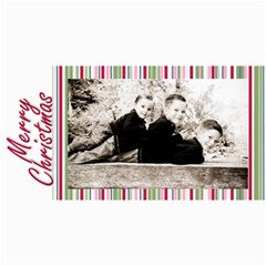 Christmas Card 2010 By E   4  X 8  Photo Cards   6pk5789kdnww   Www Artscow Com 8 x4 Photo Card - 6