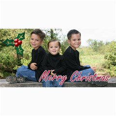Christmas Card 2010 By E   4  X 8  Photo Cards   6pk5789kdnww   Www Artscow Com 8 x4 Photo Card - 7