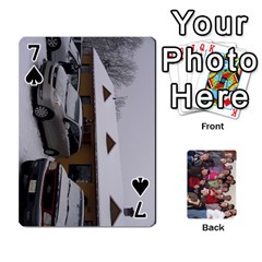 Jeu De Cartes Amis 2010 By Edith Plante   Playing Cards 54 Designs   2f3hx21v8icu   Www Artscow Com Front - Spade7