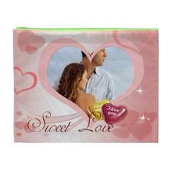 Love By Wood Johnson   Cosmetic Bag (xl)   Amhg8wz3y68e   Www Artscow Com Front