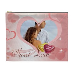 Love By Wood Johnson   Cosmetic Bag (xl)   Amhg8wz3y68e   Www Artscow Com Front