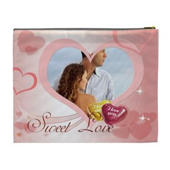 Love By Wood Johnson   Cosmetic Bag (xl)   Amhg8wz3y68e   Www Artscow Com Back