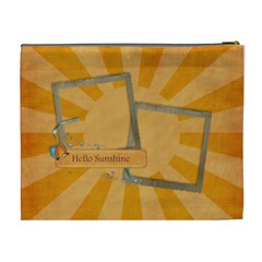 You Are My Sunshine Cosmetic Bag Xl By Mikki   Cosmetic Bag (xl)   Gxs4y8cuqlni   Www Artscow Com Back