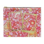 Bright Paisley-cosmetic bag XL - Cosmetic Bag (XL)