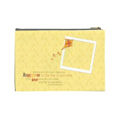 Happiness Cosmetic Bag L By Mikki   Cosmetic Bag (large)   00k6qmabn393   Www Artscow Com Back