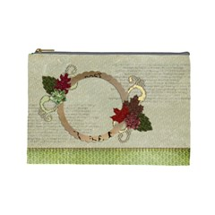Blessings & Family By Mikki   Cosmetic Bag (large)   5ib1cgthlhrf   Www Artscow Com Front