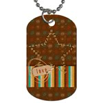Love star Dog Tag-1 side - Dog Tag (One Side)