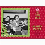 Fun christmas card 1 - 5  x 7  Photo Cards