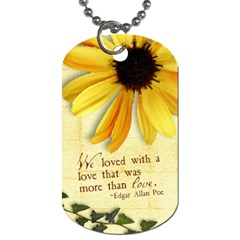 Love Word Art Dog Tag 2 Sides By Mikki   Dog Tag (two Sides)   E81jm4buos6j   Www Artscow Com Back