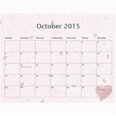 Calendar 2013   Family By Daniela   Wall Calendar 11  X 8 5  (12 Months)   D8a5vf8wcqmq   Www Artscow Com Oct 2015
