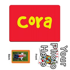 Cora Cards By Megan   Playing Cards 54 Designs   4pghx4ch1efy   Www Artscow Com Front - Joker1