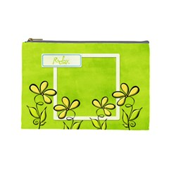Relax Cosmetic Bag By Albums To Remember   Cosmetic Bag (large)   34thuupjv555   Www Artscow Com Front