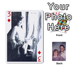 Eddie By Nancy   Playing Cards 54 Designs   Er0v2ani8xi7   Www Artscow Com Front - Diamond3