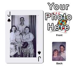 Jack Eddie By Nancy   Playing Cards 54 Designs   Er0v2ani8xi7   Www Artscow Com Front - SpadeJ