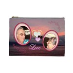 I heart you 35 love sunset Large Cosmetic Bag - Cosmetic Bag (Large)