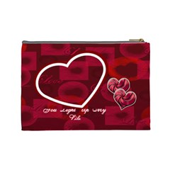 You Light Up My Life  Large Cosmetic Bag By Ellan   Cosmetic Bag (large)   Fjjllwmr1zf9   Www Artscow Com Back