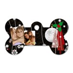 christmas - Dog Tag Bone (One Side)