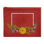 Cosmetic Bag (XL)- template red